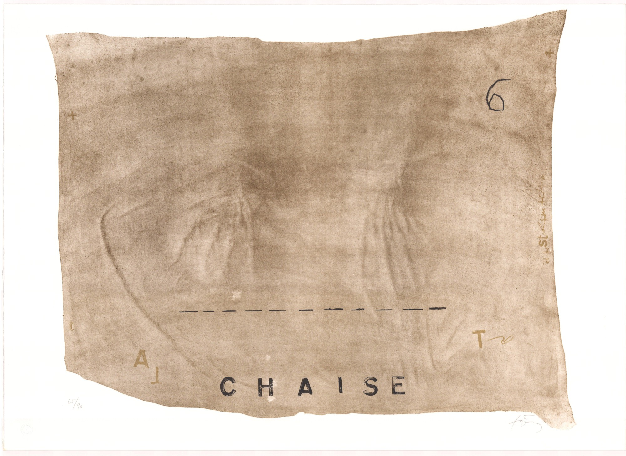 Variations VII- Chaise