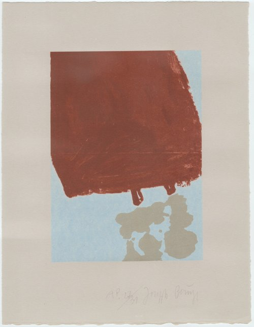 Joseph Beuys, Schwurhand mit Fett gefüllt