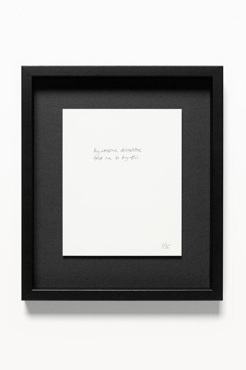 Swantje Güntzel, my interior designer told me, Kugelschreiber auf Papier