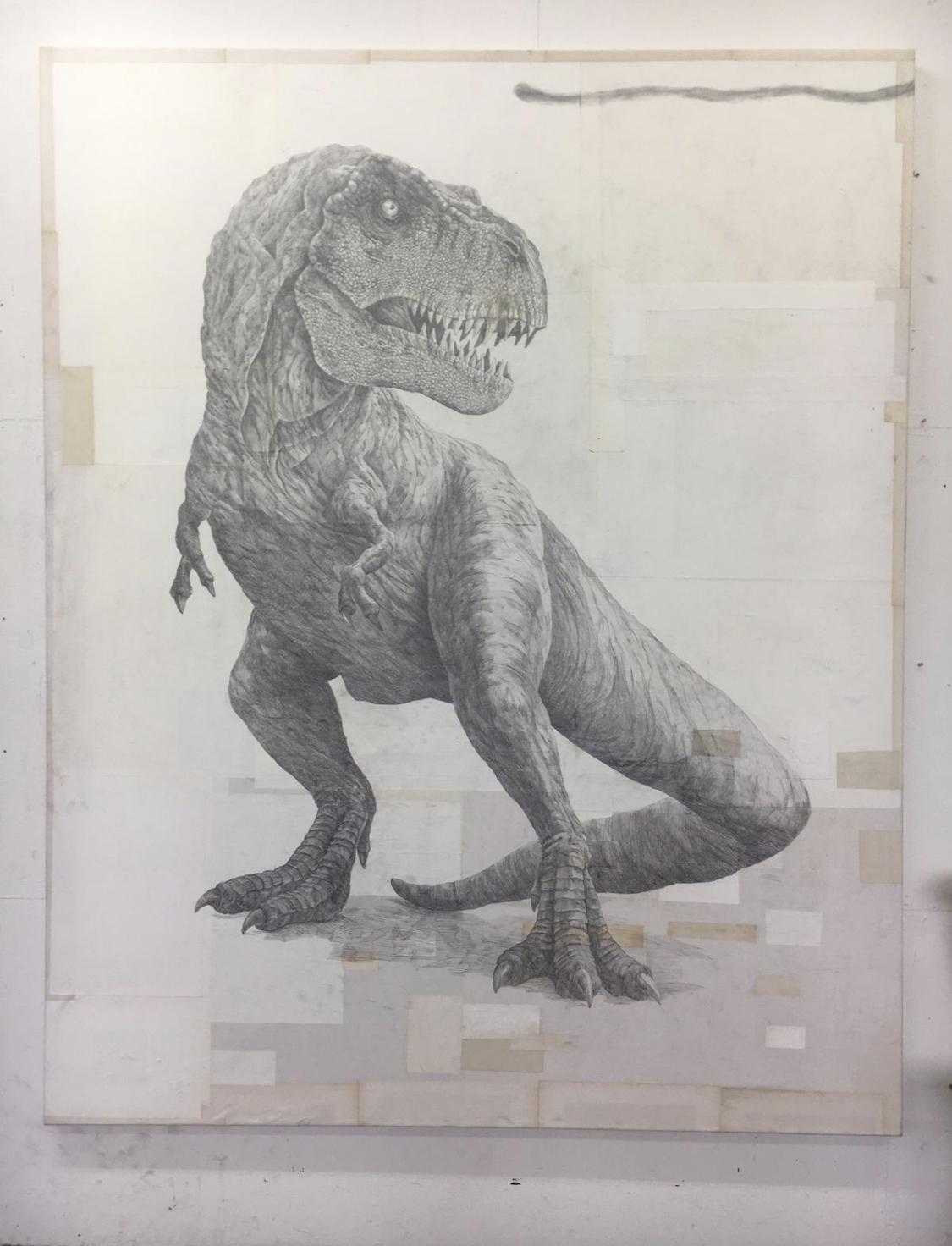 ohne Titel (T-Rex 2021)