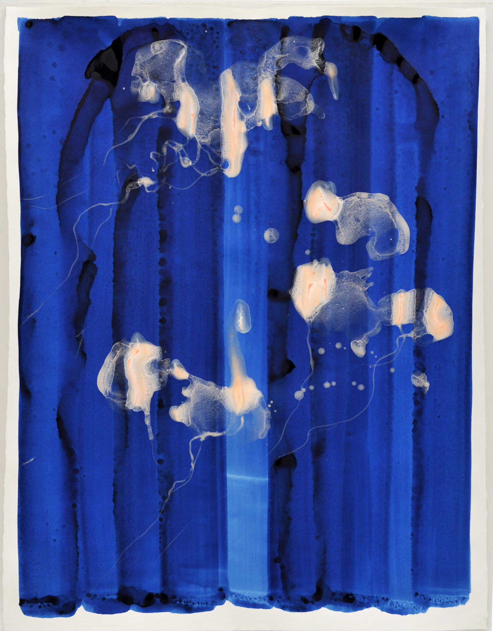 Medusa cyan 1 |deep blue sea